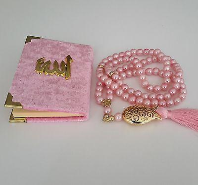 10 stücke Pembe Pink Kinder-Baby Tesbih Mevlüt Tesbihi Hediyelik 10 adet