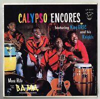 carib LP : KING ERIC &HIS KNIGHTS-calypso encores    (hear)   calypso