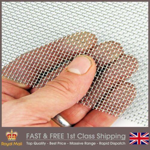 Coarse Mild Steel Woven Mesh 20LPI x 0.87mm Hole x 0.4mm Wire