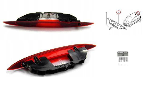 D'Origine Feu Stop Additionnel Renault Modus 2004-2012 8200219415