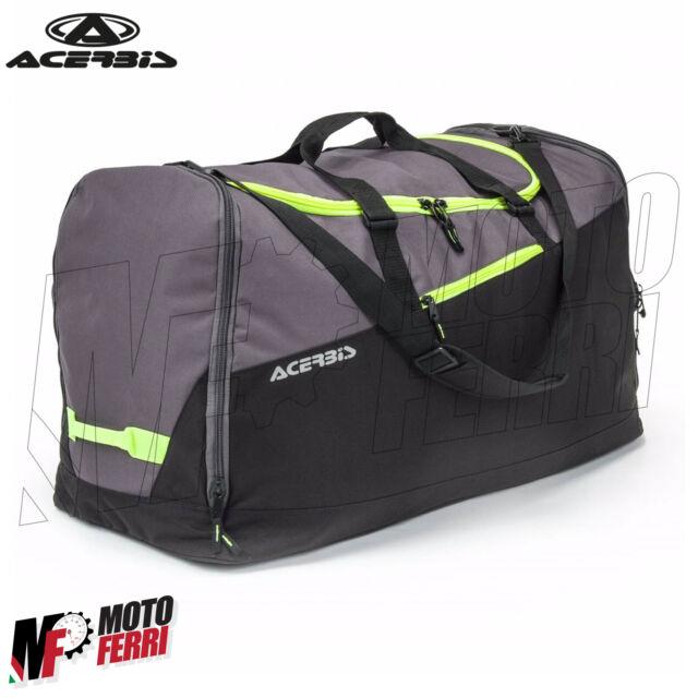 MF0837 - Bolsa de Viaje ACERBIS Enduro Cross Cargador Gris Negro Bolsillos 180