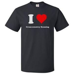 I-Love-Cross-country-running-T-shirt-I-Heart-Cross-country-running-Tee
