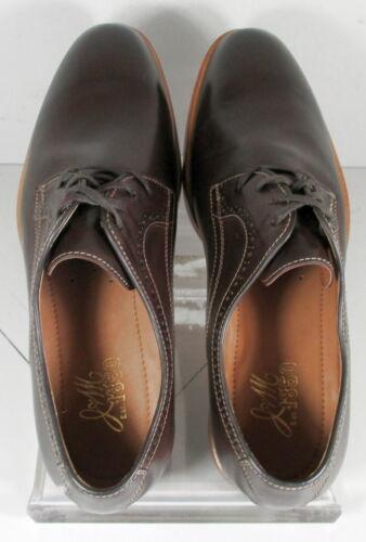 271242 ES50 Men/'s Shoes Size 11 M Dark Brown Leather Lace Up Johnston /& Murphy