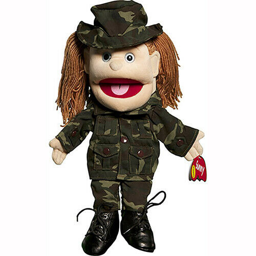Sunny Toys Inc 14 Brunette Yarn-Haired Army