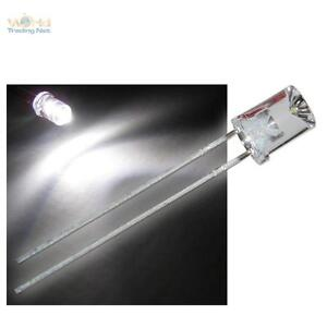 500-LED-5mm-konkav-warmweiss-concave-LEDs-mit-Zubehoer-warm-weiss-white-warmwhite