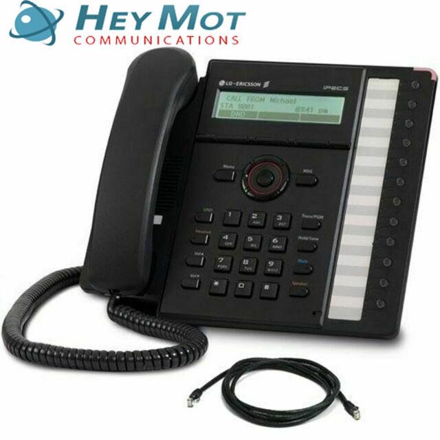 LG iPECS LIP-8012D IP Telephone - Inc Warranty & Free UK delivery