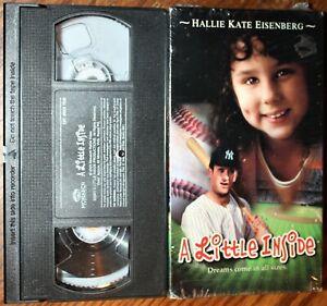 Details about A LITTLE INSIDE (vhs) Benjamin King, Hallie Kate Eisenberg   VG Cond  Rare Sports