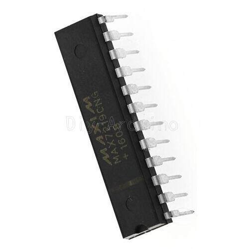 1PCS  IC MAXIM MAX7219CNG Max7219 IC DRIVER LED DISPLAY 8DGT 24-DIP
