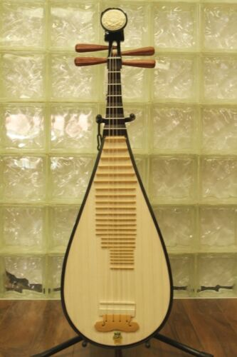 Pipa - Chinese Lute Guitar Dunhuang Musical Instrument