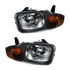 New Chevy Chevrolet Cavalier 03-05 Headlights Headlamps Pair Set Left & Right