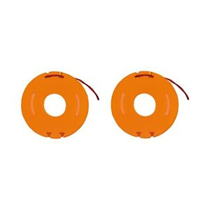 WORX 2-Pack Replacement Grass Trimmer Spool & Line 1.3m