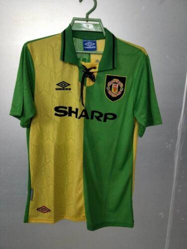 Retro Manchester United 1992-94 Shirt Newton Heath Man Utd Jersey CANTONA GIGGS