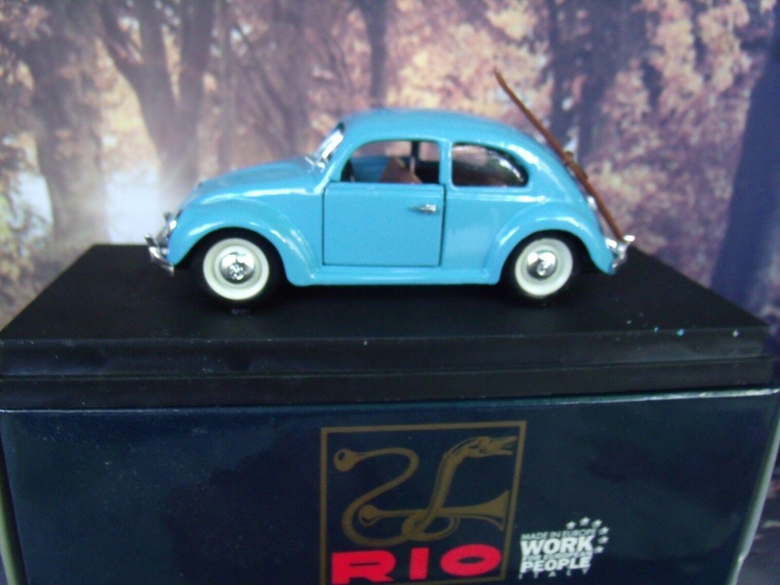 1 43 Rio ()   Volkswagen winter version with ski beetle    SL 057