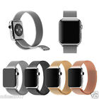 Apple Watch Premium Real Stainless Steel Magnetic Loop Watch Band