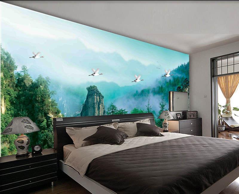Quiet Preceding Hill 3D Full Wall Mural Photo Wallpaper Printing Home Kids Decor