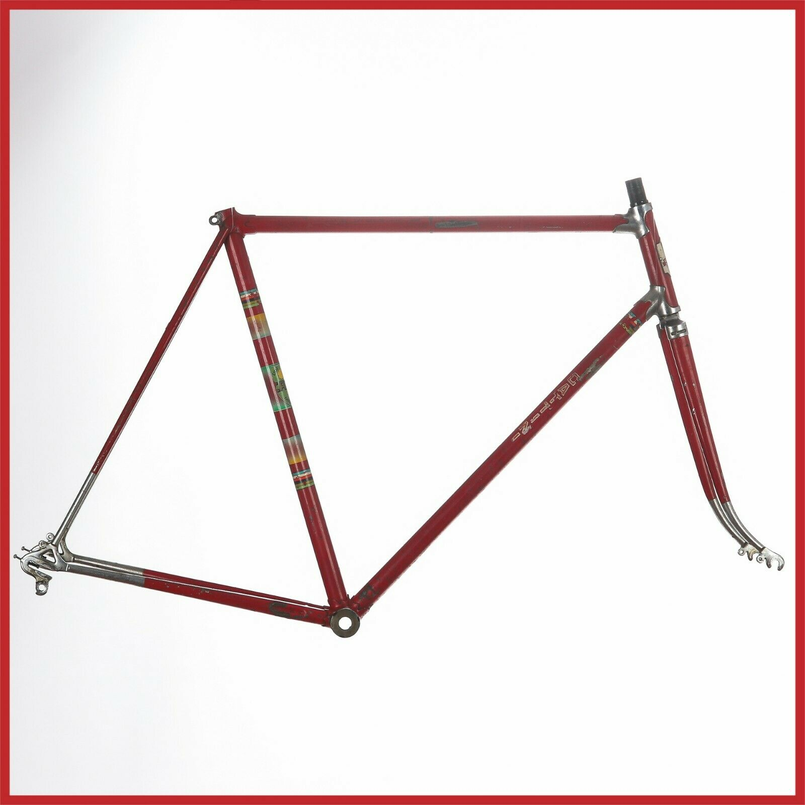 CATTINI STEEL FRAMESET  FRAME 60s CAMPAGNOLO VINTAGE LUGS ROAD RACING BIKE OLD  lowest whole network