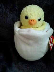 df8e9ac7896 Image is loading Ty-Beanie-Baby-Eggbert-Chick-Easter-1998