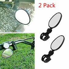 1//2//4Pair Mini Rotaty Handlebar Glass Rear view Mirror For Road Bike Bicycle USA