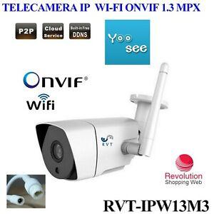 Telecamera ip camera wifi p2p per esterno alta definizione for Definizione camera
