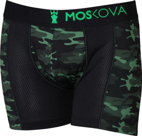 Moskova Homme M2 Tech Short-Noir//Vert Camouflage