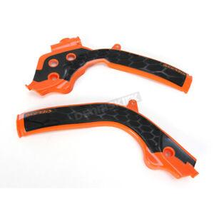 KTM 250 SX-F 2016-2018 Acerbis X-Grip Frame Guards 16 KTM Orange//Black Fits