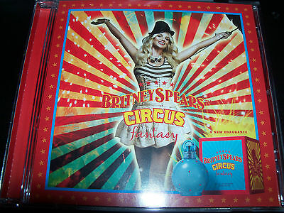 Britney Spears Fantasy - Circus / Kill The Lights Perfume Promo CD