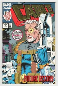 Cable-1-Signed-by-Art-Thibert-Marvel-1993-Deadpool-X-Force