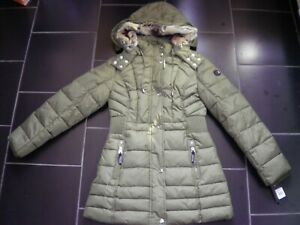 Size Parka About Cactus 1012 Coat Green Details Hooded Jacket Ladies Covert Overt gyY76bfv