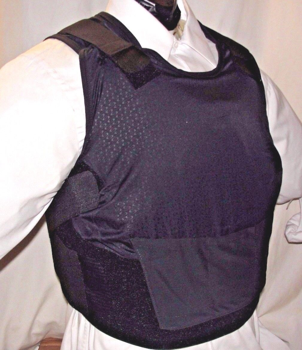 Female Full XL IIIA BulletProof Concealable Body  Armor Carrier Vest with Inserts  70% off