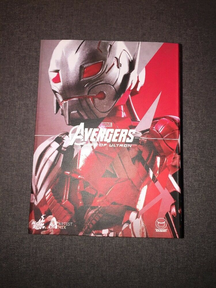 Hot Toys Artist Mix Series Marvel Ultron Sentry Prime - Avengers Age of Ultron