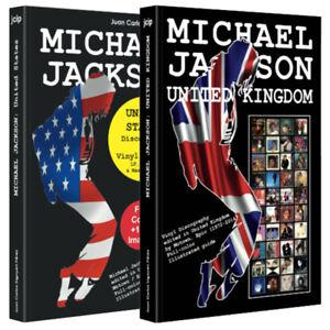 Lote-de-2-Libros-Michael-Jackson-Estados-Unidos-Reino-Unido-Discografia