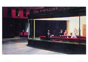 Edward-Hopper-s-Nighthawks-36-x-24-inch-Art-Poster