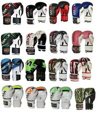 New Maya Leather Boxing Gloves Fight Punch Bag Mma Muay thai Gloves Pad Gloves