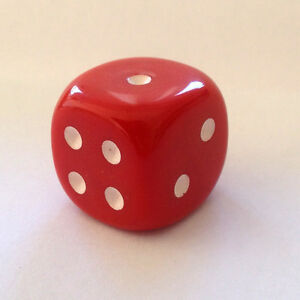 Wuerfel-Cube-Dice-fuer-Bastler-Schmuck-ca-20-mm-Kette-Mode-2-cm-Game-Spiel-rot