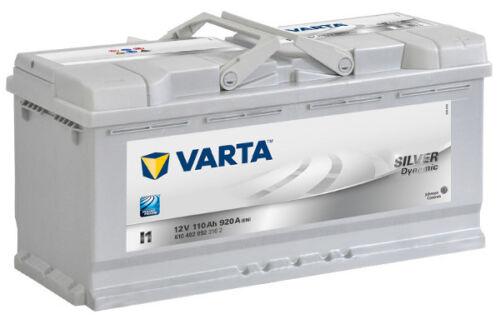 Varta Silver Dynamic I1 Autobatterie 110Ah Starterbatterie 610402092 *NEU*