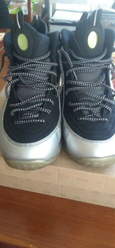 Nike air penny Half Cent Silver And Black Penny Ha