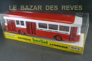 MINIALUXE-FRANCE-Autobus-BERLIET-Lyonnais-Boite