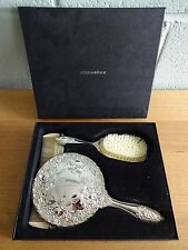 Silver Plated H Samuel Classics Vanity Dressing Table Set Brush Mirror Comb
