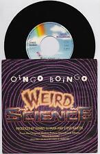 """OINGO BOINGO - WEIRD SCIENCE (OST) / MAMA  45 giri 7"""" MCA  258907-7 1985 IT"""