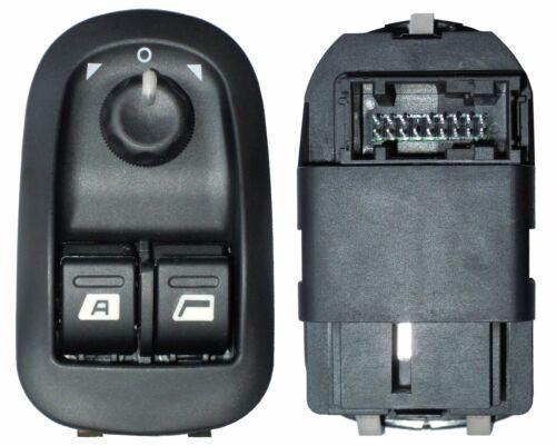 Bouton commande interrupteur lève vitre avant gauche de Peugeot 206 1998-2013
