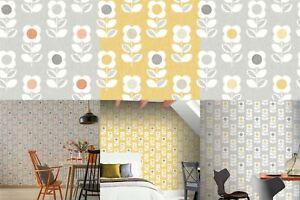 Arthouse-Retro-Floral-Flower-Motif-10m-Wallpaper-3-Colours