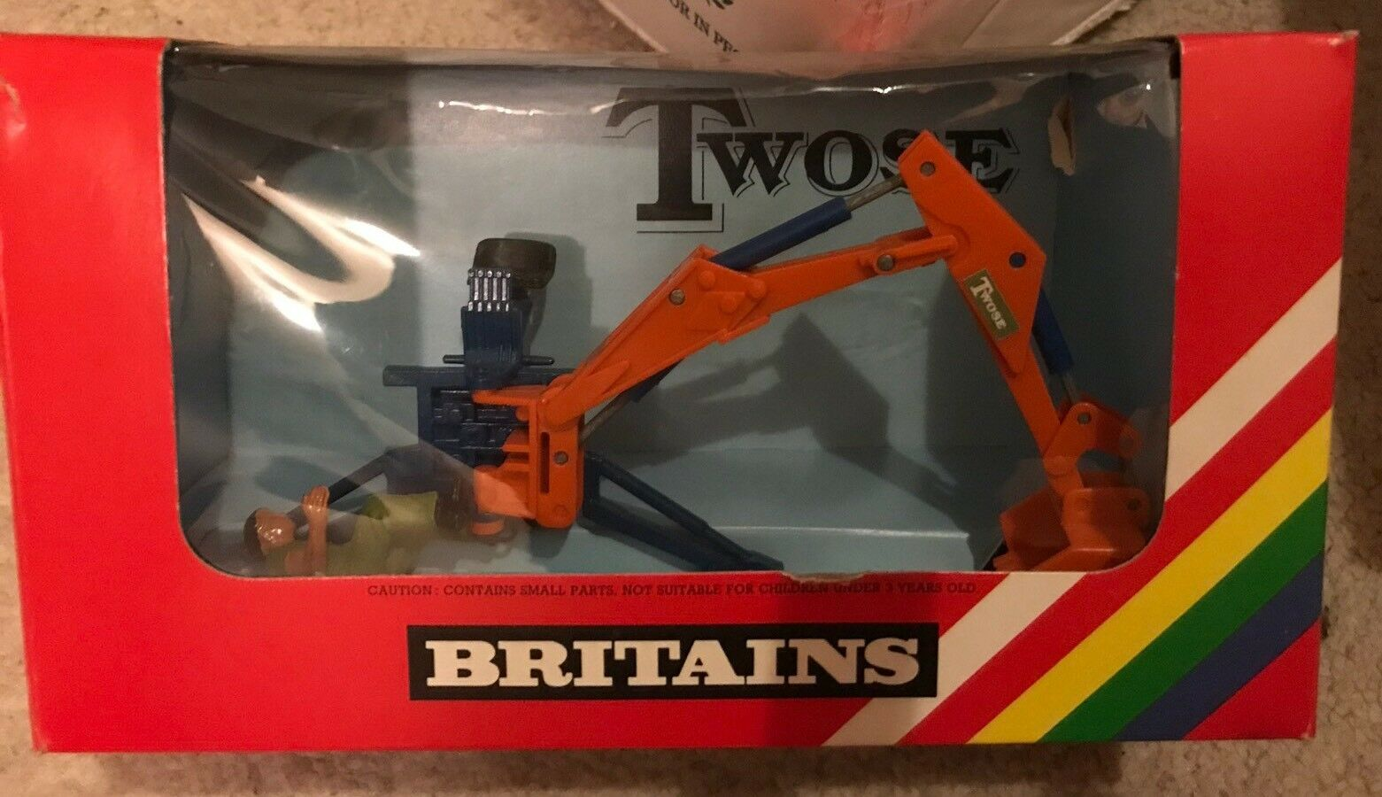 9536 Britains Twose Rear Mounted Digger 1 32 scale Boxed