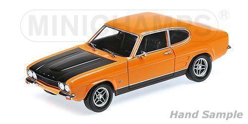 Ford Capri RS2600 1970 -orange  svkonst 1 18 Minichamps