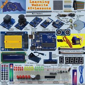 uno r3 starter kit for arduino 1602lcd servo ultrasonic motor led
