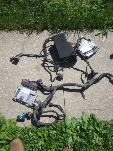 2014 Ford Focus Under Hood Fuse Box Wiring Harness Dm5t