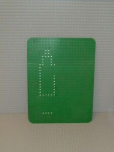 Grüne Lego Grundplatte Bauplatte Grün Rasen 24 x 32 Noppen
