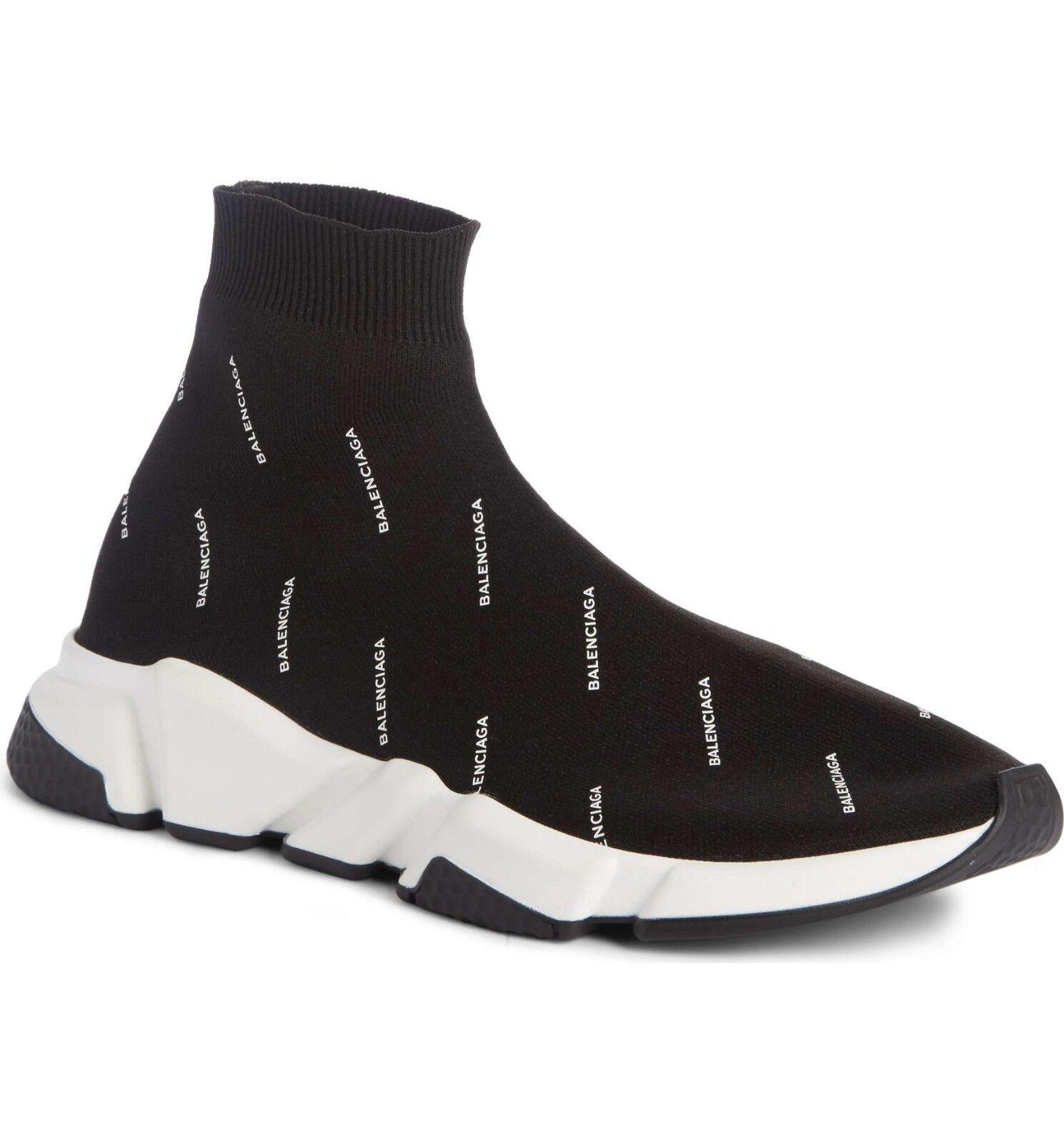 BALENCIAGA velocità Sock Scarpe Da Ginnastica Da Donna Tutto logo