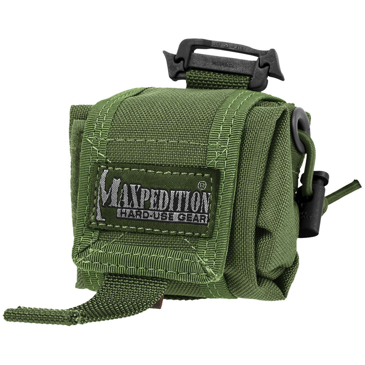 Maxpedition Mini Rollypoly Utility Folding Bag Military Dump Drop Pouch OD Green