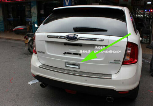 Chrome Rear Door Handle Bowl Cover Trim for Ford Edge fit 2011-2014 Tailgate