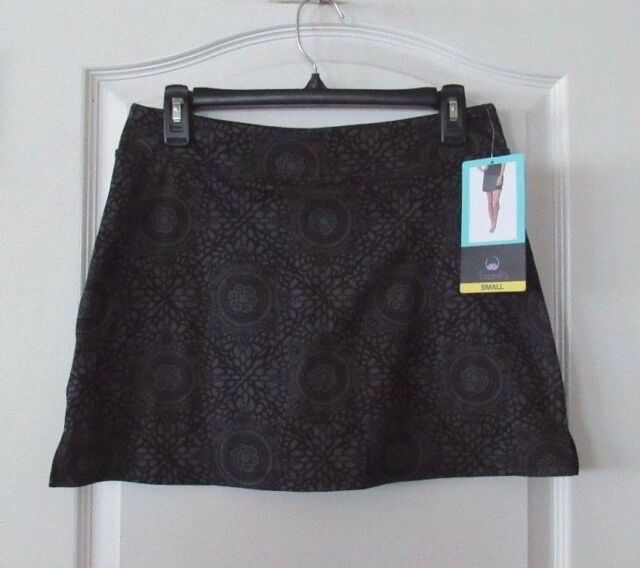 Women's Clothing Tranquility By Colorado Clothing Black And White Skort Size Small Nwt